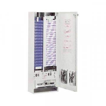 Dispensador Higiénico Femenino 2 Canales. Medidas 27x79x14CM.