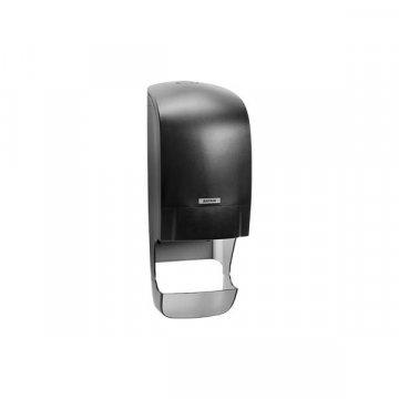 Dispensador Papel Higiénico Katrin Inclusive (con recogedor). Color Negro.