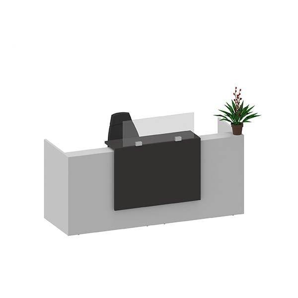 Mampara separador mostrador 140x90cm/100cm