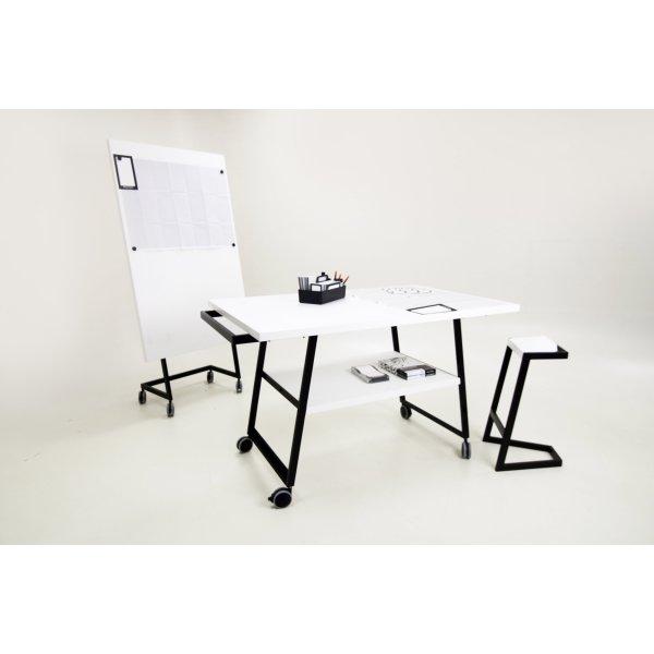 Mesa Manual Thinking con Ruedas 160x100x98cm
