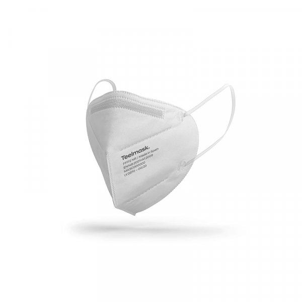 Pack 50 Mascarillas FFP2 no reutilizables sin válvula